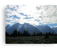 Blanketed Giants Canvas Print