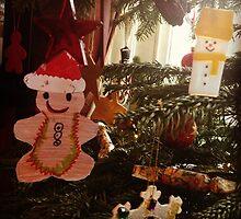 Gingerbread decoration by Robert Steadman