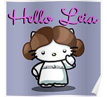Hello Leia Poster