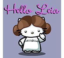 Hello Leia Photographic Print
