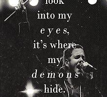 where my demons hide by shoshgoodman