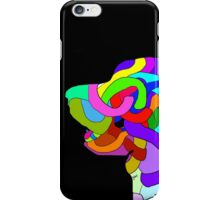 Abstract bright colorful dog  iPhone Case/Skin