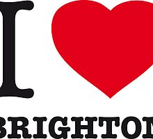 I ♥ BRIGHTON by eyesblau