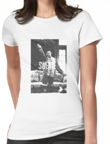 Swerve! Womens Fitted T-Shirt