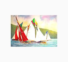 Racing Red Sails Unisex T-Shirt