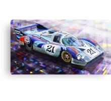 Porsche 917 LH Larrousse Elford 24 Le Mans 1971 Metal Print