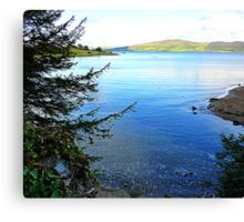 A Cove On The Fanad Peninsula Canvas Print