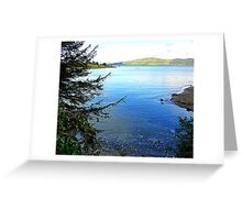 A Cove On The Fanad Peninsula Greeting Card