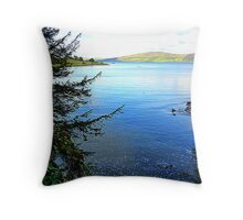 A Cove On The Fanad Peninsula Throw Pillow