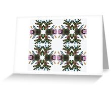 SNOW FLAKE 6 Greeting Card
