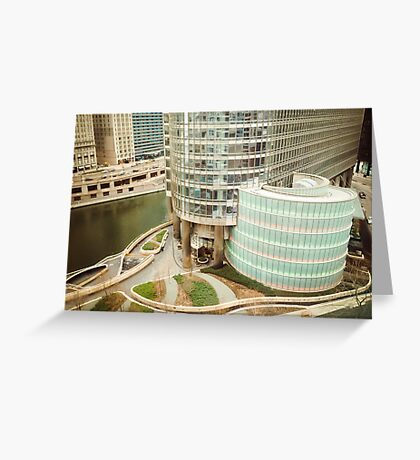 Trump Towers, Chicago Greeting Card