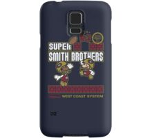 Super Smith Brothers (faded) Samsung Galaxy Case/Skin