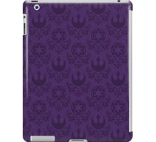 Rebel & Jedi Damask - Purple iPad Case/Skin