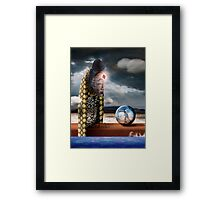 Hope and Determination Framed Print