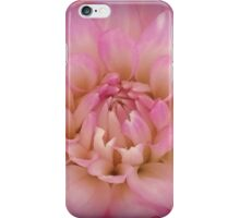 Pink And Yellow Dahlia Flower iPhone Case/Skin