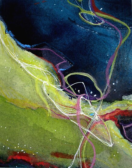 Fleeting 2 by Denise R  Fleming