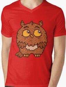 Cute owl Mens V-Neck T-Shirt