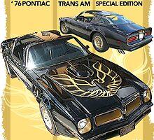 1976 Pontiac Trans Am by 454autoart