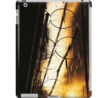 Irrigation wheels 2 iPad Case/Skin