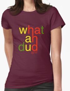 WHATAHDUD Womens Fitted T-Shirt
