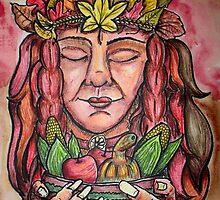 Harvest Queen by SarahBelham
