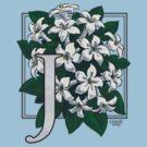 J is for Jasmine - patch by Stephanie Smith