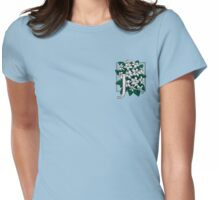 J is for Jasmine - patch Womens Fitted T-Shirt
