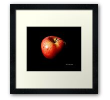 Malus Domestica - Washington State Honeycrisp Apple Framed Print