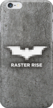 Raster Rise 8-Bit Texture by RedRobot