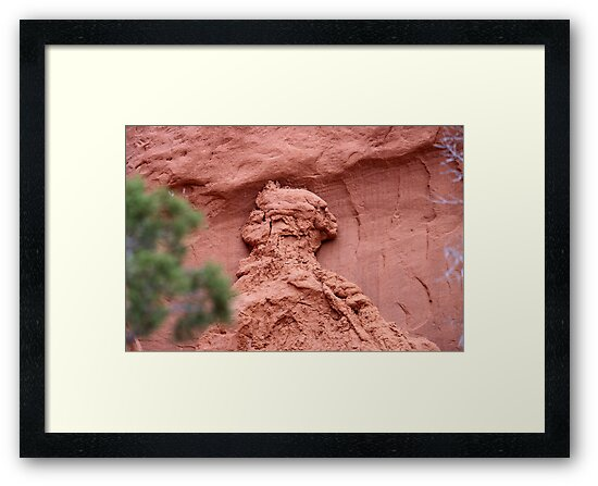 Indian Profile,Kodachrome State Park,Utah,USA by Anthony & Nancy  Leake