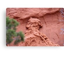 Indian Profile,Kodachrome State Park,Utah,USA Canvas Print