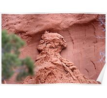 Indian Profile,Kodachrome State Park,Utah,USA Poster