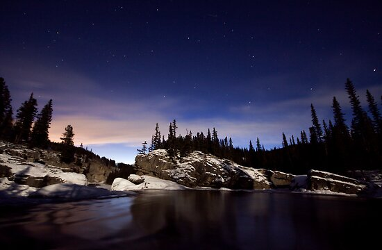 By the light of the moon by Justin Atkins