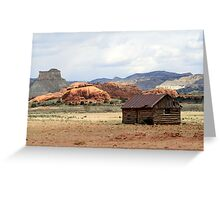 Old Cabin in Kodachrome State Park,Utah,USA Greeting Card