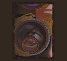 eye as a lens - steampunk variations by dennis william gaylor