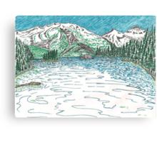 Main bay Canvas Print