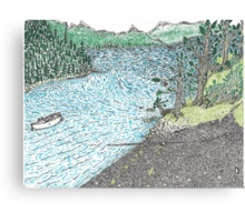 Eshamy Bay Canvas Print