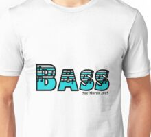 Bass Silver & Turquoise Unisex T-Shirt