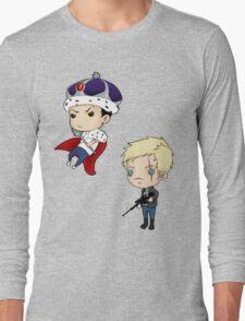 Moriarty and Moran chibis Long Sleeve T-Shirt