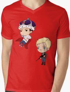 Moriarty and Moran chibis Mens V-Neck T-Shirt