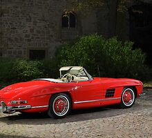 Mercedes 300 SL Roadster 1957 #3 by Stefan Bau
