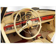 Mercedes 300 SL Roadster 1957 #4 Poster