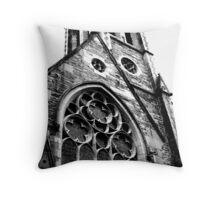 Benedictine Points Throw Pillow