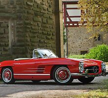 Mercedes 300 SL Roadster 1957 #5 by Stefan Bau