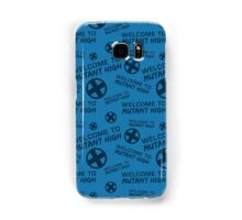 Welcome to Mutant High - Blue Samsung Galaxy Case/Skin