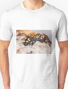 Fire Salamander (Salamandra salamandra) Close-up Unisex T-Shirt
