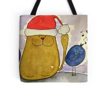 Merry Christmas From The Doodles!! Tote Bag