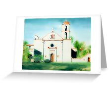 Mission San Luis Rey Dreamy Greeting Card