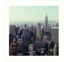 Manhattan Sunrise, Fine Art Photography New York City Art Print