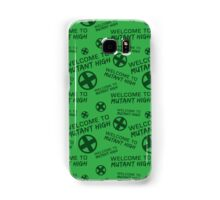 Welcome to Mutant High - Green Samsung Galaxy Case/Skin